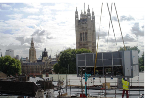 Source: 1. Natural Gas, CIBSE Journal, June 12 ; 2. Case Study, Church House, Westminster Abbey – Nicholas Cox, Earthcare