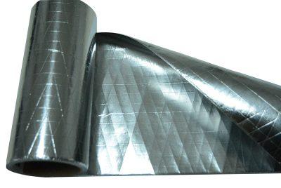 Double side reflective alimunium foil