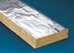 Foil backed fiberglass batt